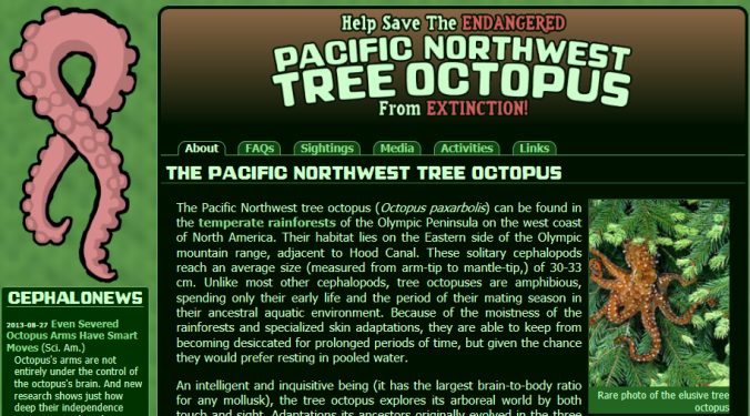 TreeOctopus